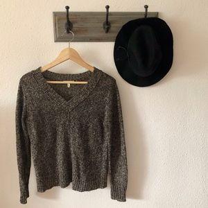 NEW Eillen Fisher Brown Linen Knit Sweater PS